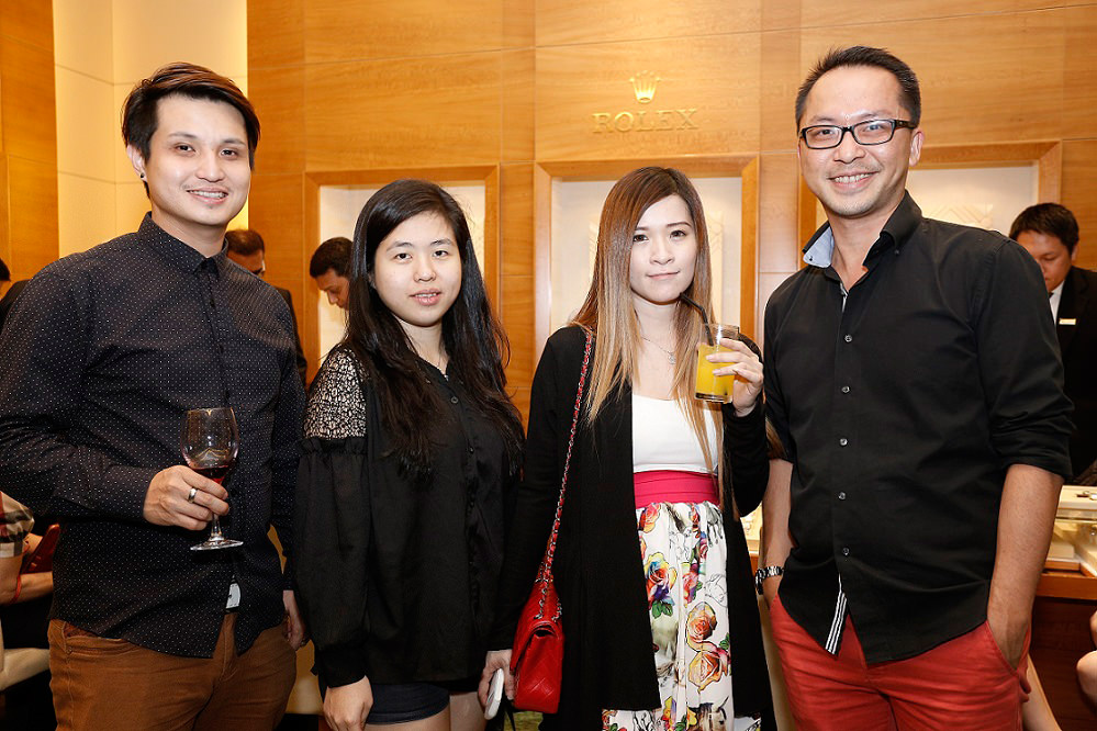 From L-R Mr Chow Choke Fei, Ms Elizabeth Eoh Yang, Ms Ices Kwok, & Mr Ted Wong