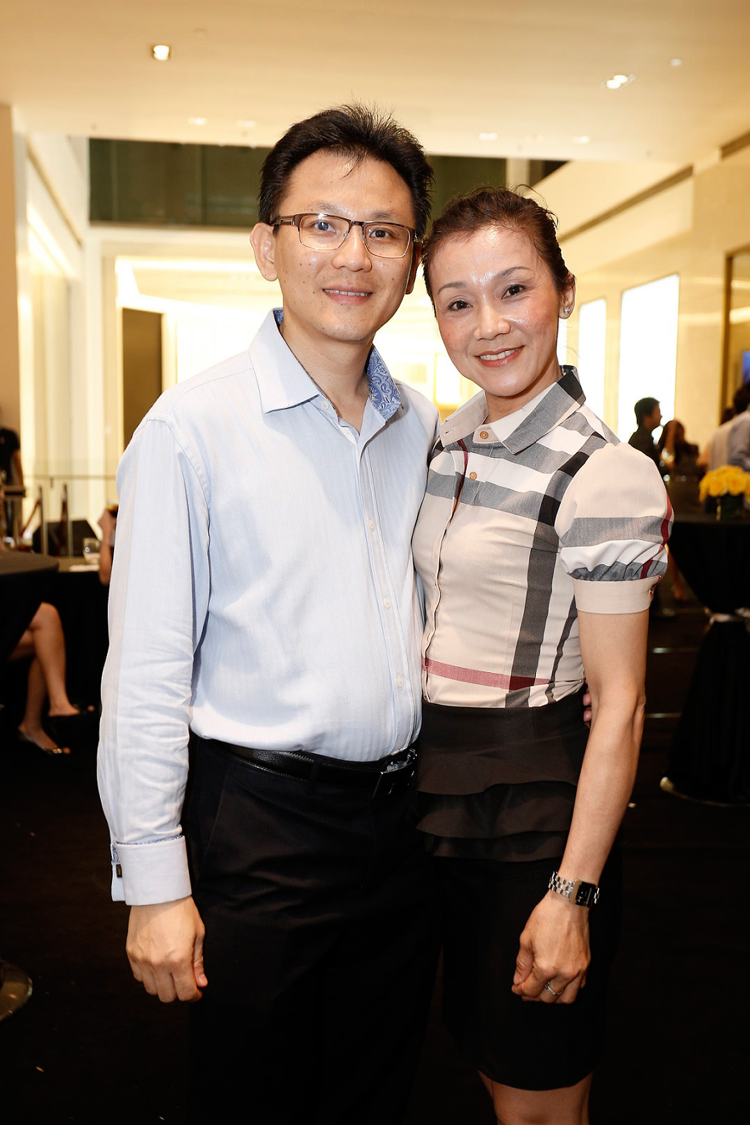 From L-R Mr Desmond Cheo, & Ms Cher Hooi