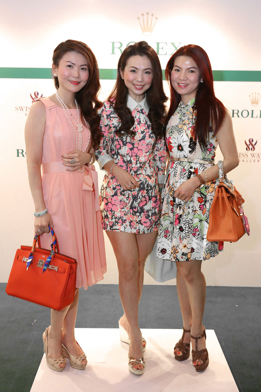 L-R (Carrie Gan, Pauline Gan & Shereen Low)