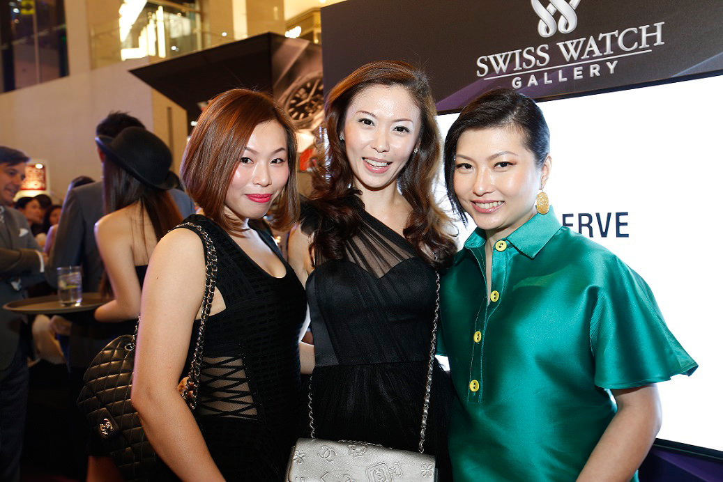 (L-R) Dorine Koay, Violet Lee, Ashley Chow