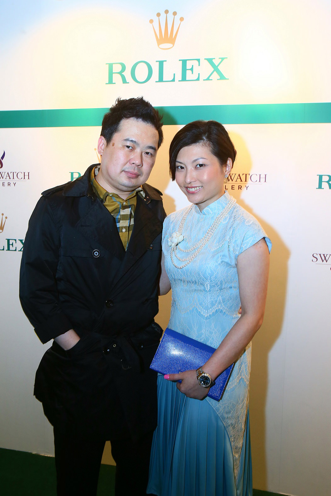 L-R (Dr Casey Chow & Ashley Chow)
