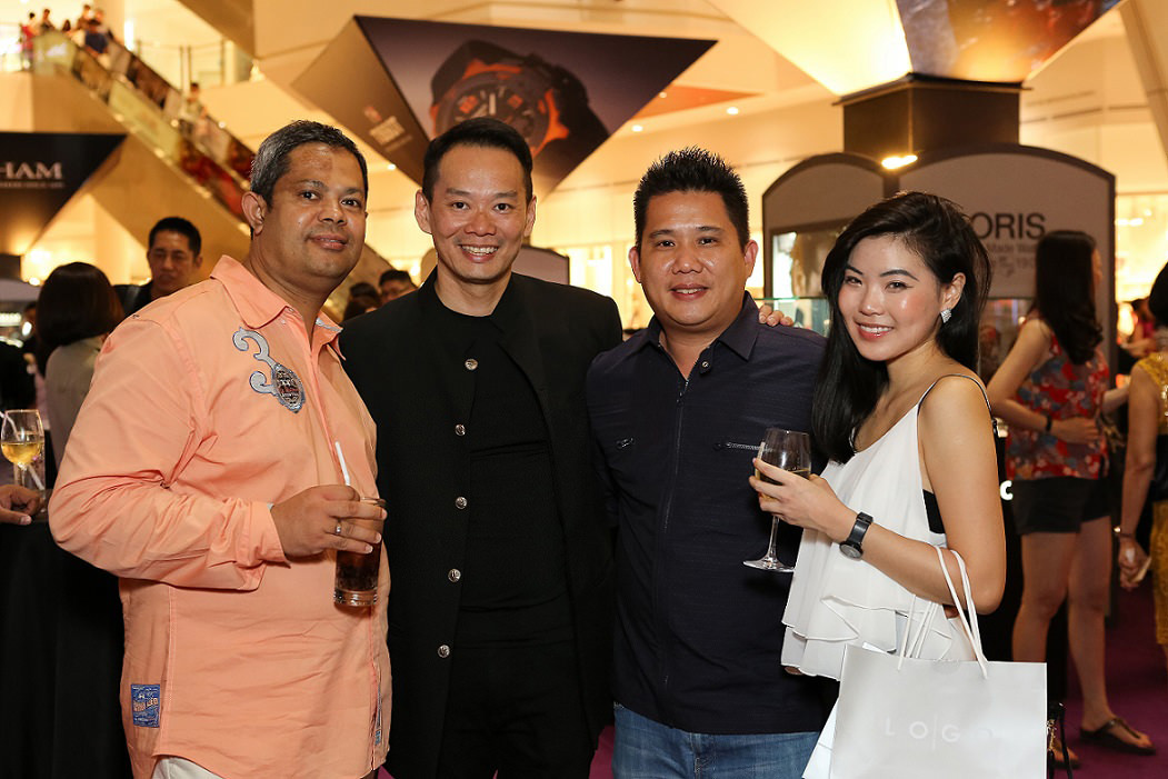 (L-R) Mr. Mohd Ferdaus, Mr. Chris Gan, Mr. Kevin Cheah, Ms. Amily Ng_02