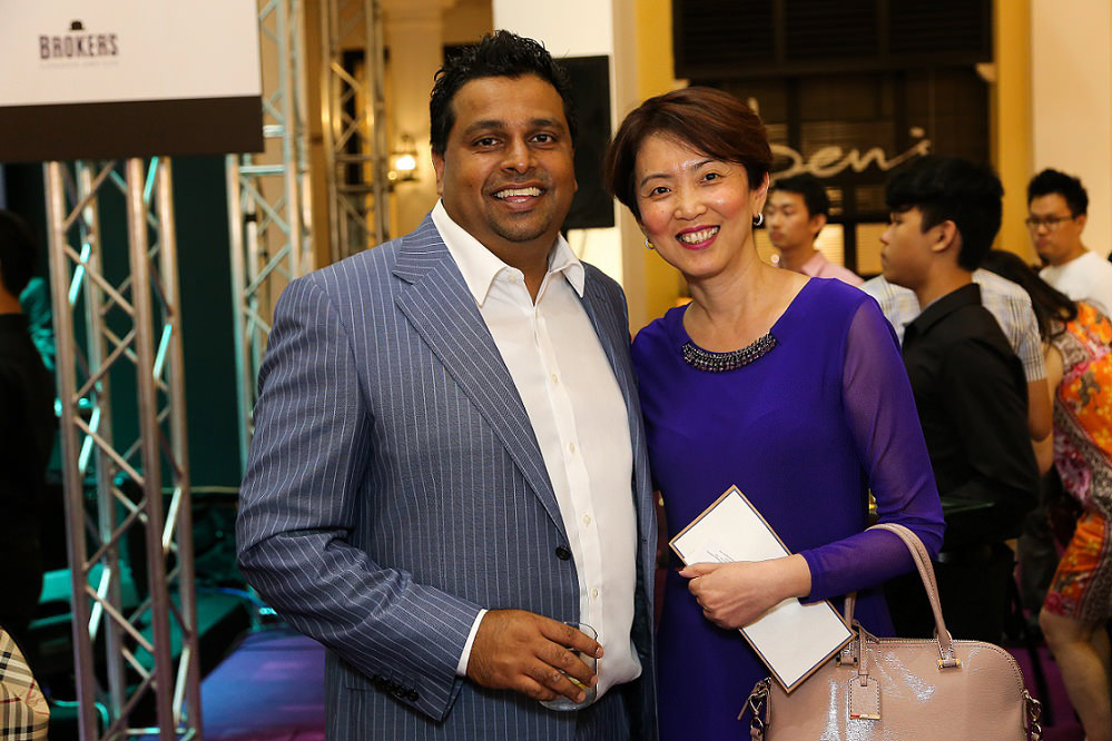 (L-R) Mr. Suraj Menon, Ms. Lily Tan_02