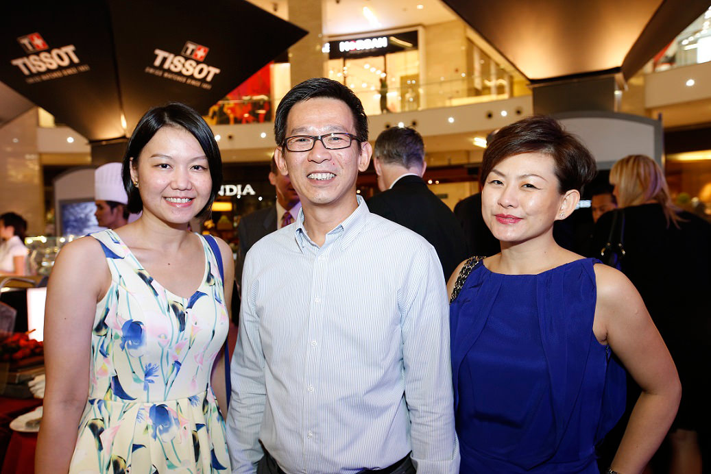 (L-R) Reney Pu, Jimmy Tan & Elaine Soh