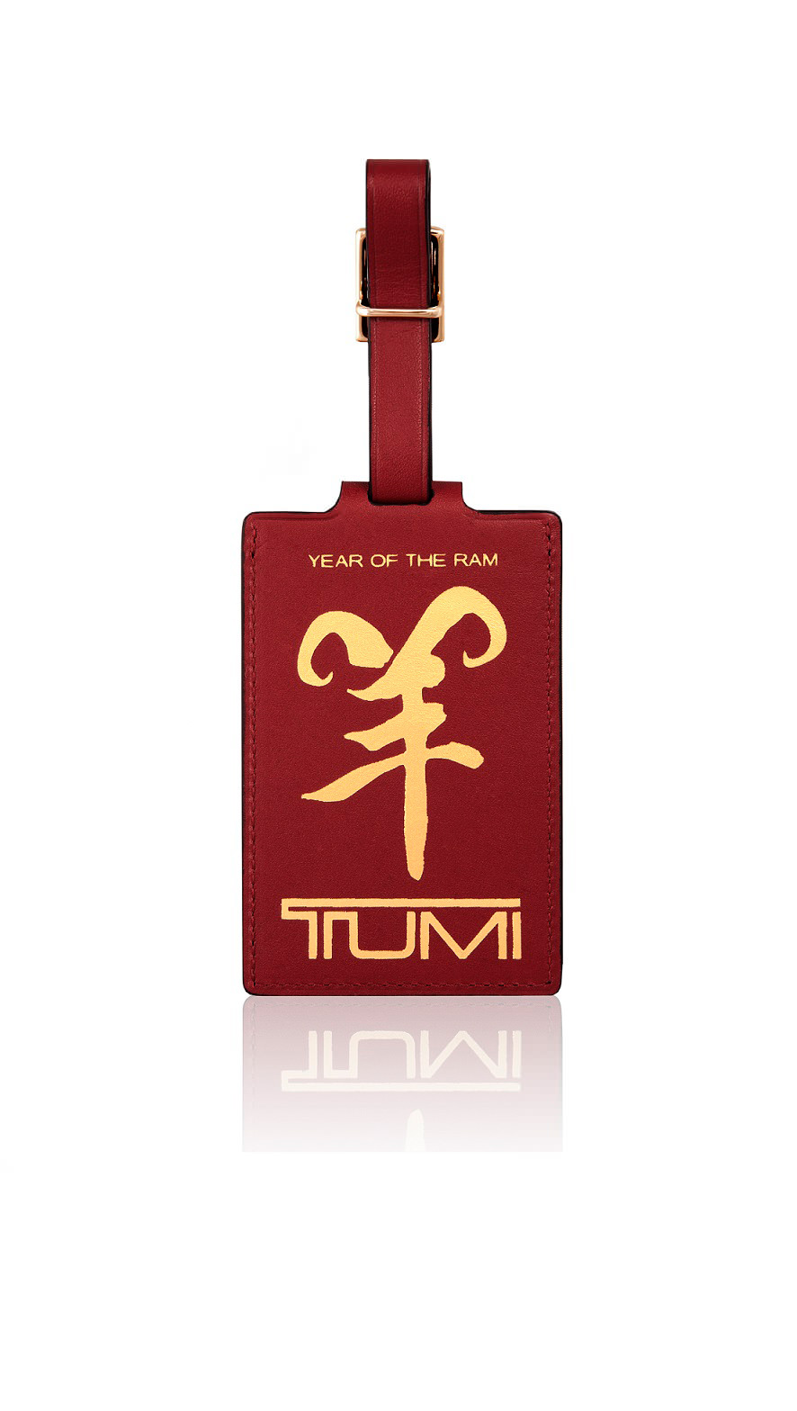 Year of the Ram luggage tag