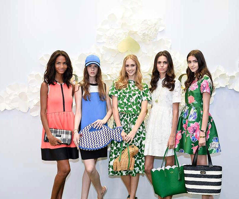 Models in  kate spade new york spring 2015 collection (2)