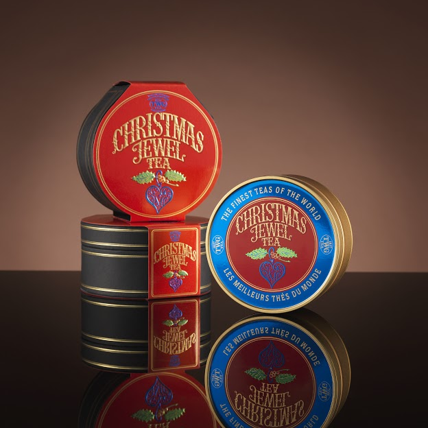 TWG Tea Christmas Jewel Caviar Tin Tea (Product Shot)
