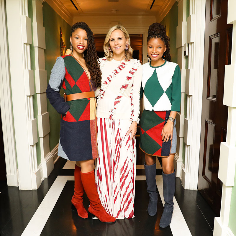 Tory Burch private dinner: to celebrate the Gemini Link collection