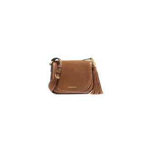 MICHAEL Michael Kors  Brooklyn Medium Leather Saddlebag