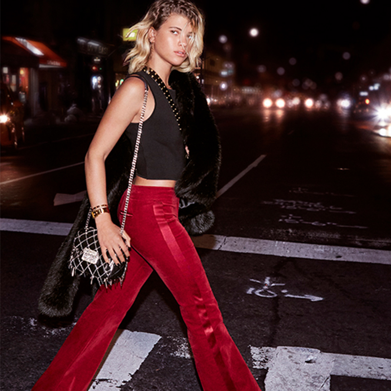 MICHAEL KORS THE HOLIDAY 2016 STREET STYLE HANDBAG CAMPAIGN