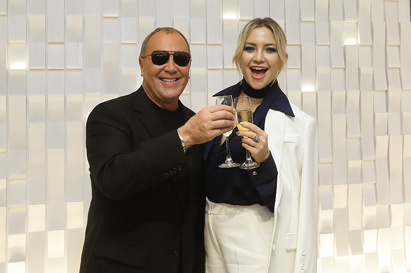 ate Hudson, Jessica Gomes, Marion Caunter And More In Michael Kors At Opening Of Michael Kors Mandarin Gallery Flagship In Singapore