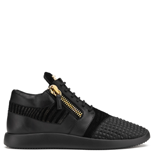 Giuseppe Zanotti Runner low-top fabric sneaker with studs