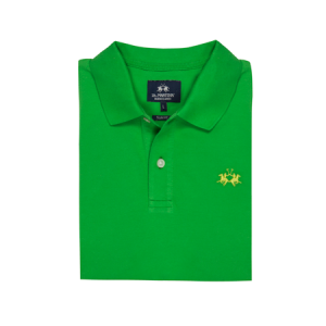 La-Martina-men's-piquet-polo-shirt