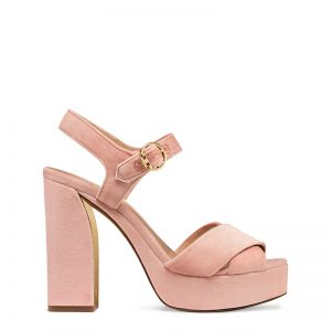 TB Loretta 115mm Platform Sandal 42471 in Ballet Pink-EDIT