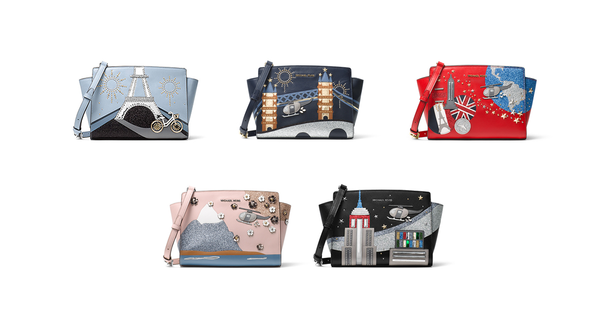 59c79da4500742 Michael Kors Debuts A Limited Edition Collection Featuring The Iconic Selma  Handbag