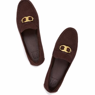 TB Gemini Link Driving Loafer 41614 in Burnt Chocolate (2)