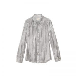 Silver-Metallic-Shirt