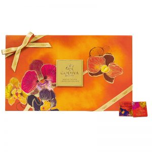 Chinese New Year Assorted Chocolate Carré Gift Box 28pcs-EDIT