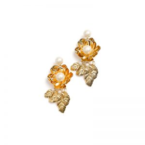 Lavish Blooms Statement Earrings