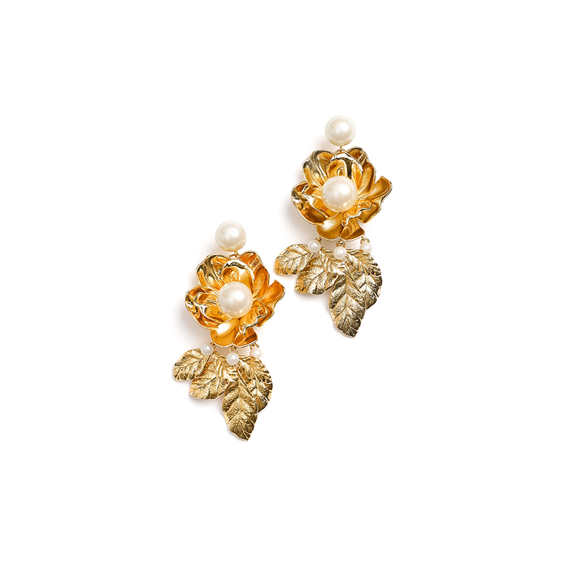 Kate Spade New York Lavish Blooms Statement Earrings 3HzNIoKyvh
