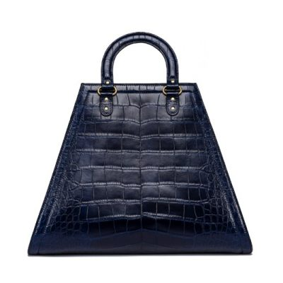 TB Triangle Alligator Bag 46866 in Navy