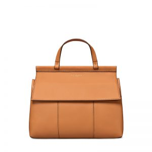 TB Block-T Satchel 35456 in British Tan