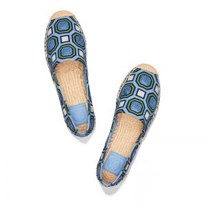 TB Cecily Embellished Espadrille 46765 in Octagon Square-Light Chambray (2)