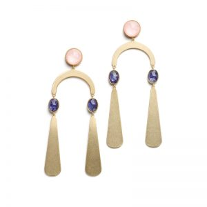 Sunshine Stones Mobile Statement Earrings2
