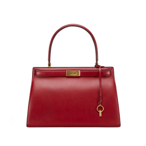 TB Lee Radziwill Satchel 49845 in Coffeeberry