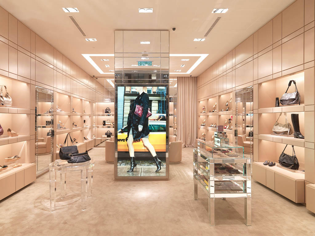 Jimmy Choo Store Kuala Lumpur selling Jimmy Choo shoes, bags and luxury women's accessories
