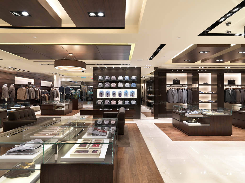 Canali Store of Luxury Menswear Collections offering Canali Suits, Ties, Bags, Shoes and Accessories