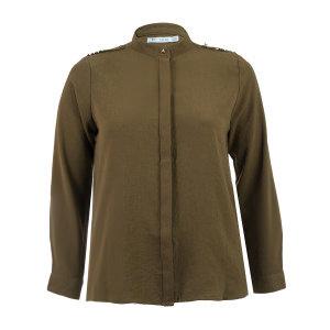 Long Sleeve Embellished Blouse