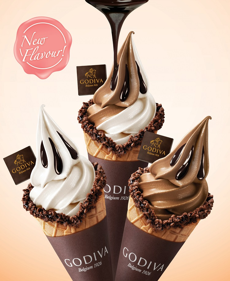 Image result for godiva soft serve