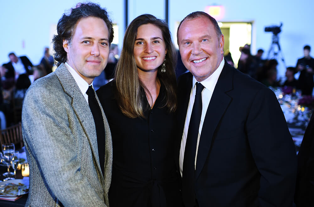 10th Annual Golden Heart Awards Dinner _ David Lauren, Lauren Bush Lauren & Michael Kors