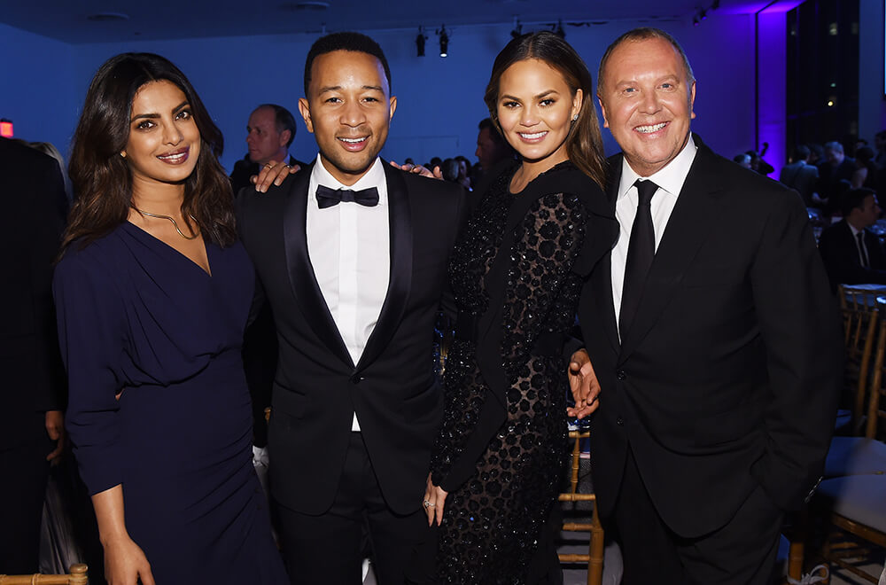 10th Annual Golden Heart Awards Dinner _ Priyanka Chopra, John Legend, Chrissy Teigen, Michael Kors