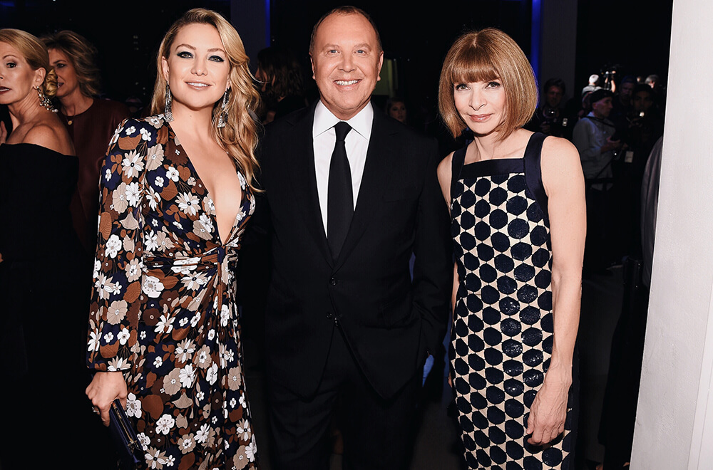 10th Annual Golden Heart Awards Dinner _ Kate Hudson, Michael Kors & Anna Wintour
