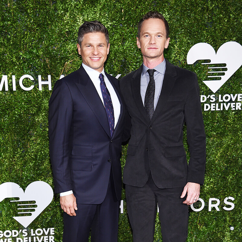 10th Annual Golden Heart Awards Dinner _David Burtka & Neil Patrick Harris