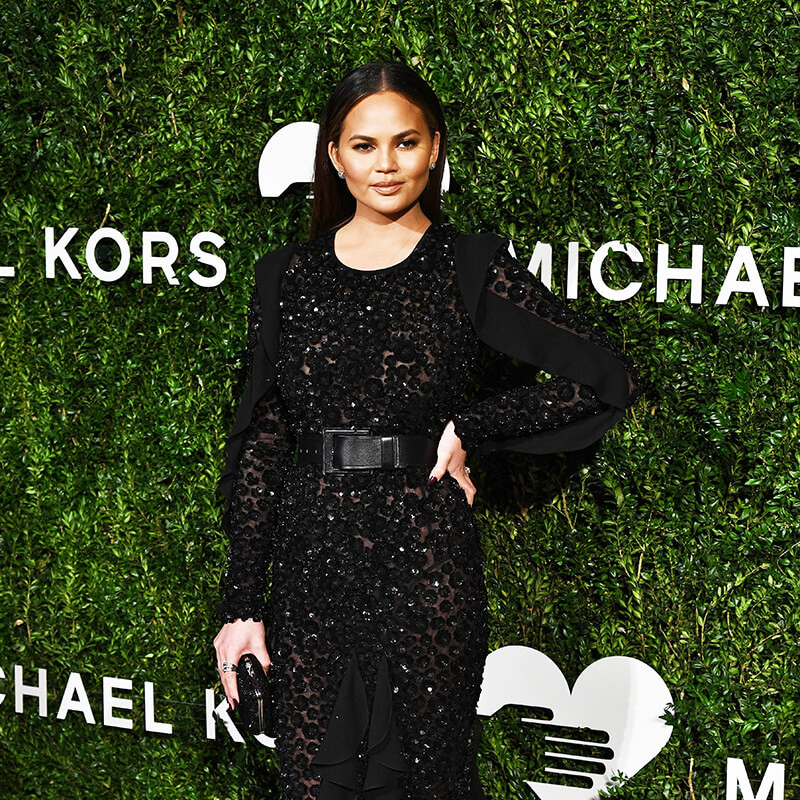 10th Annual Golden Heart Awards Dinner _ Chrissy Teigen