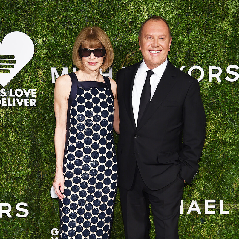 10th Annual Golden Heart Awards Dinner _ Anna Wintour & Michael Kors