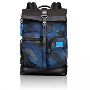 222388BCM2_main Luke Roll-Top Backpack in Blue Camo