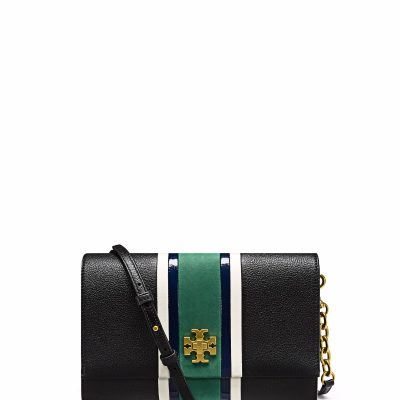 TB Georgia Stripe Cross-Body 41714 in Black Multi