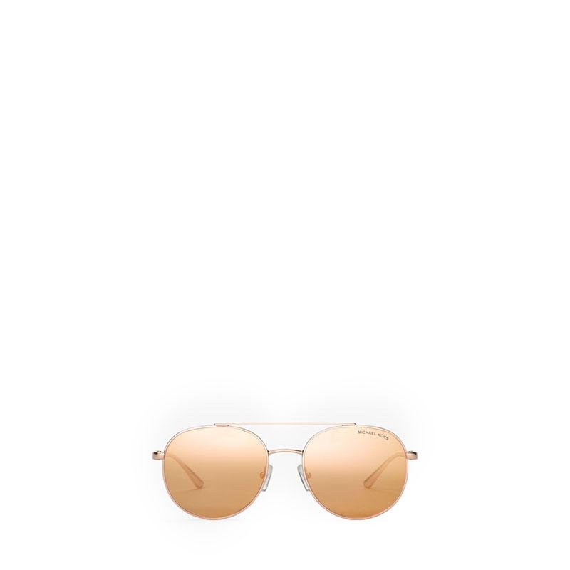 5877470558db Michael Kors Lon Rounded Aviator Sunglasses | Valiram Group