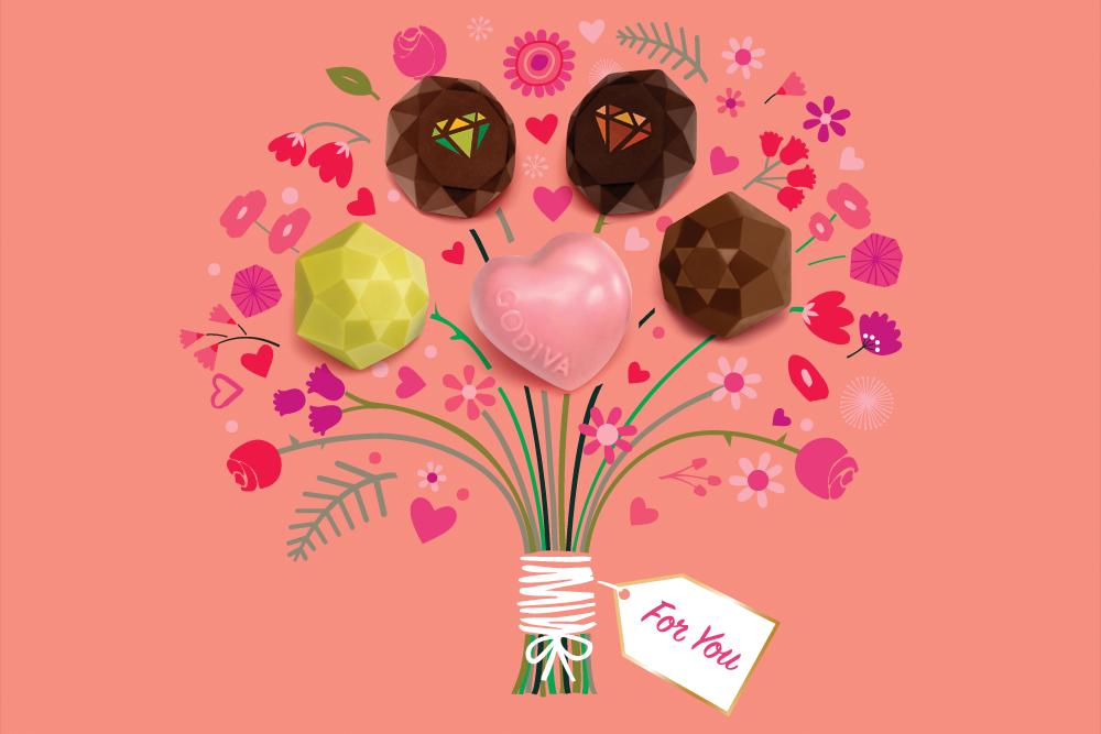 Godiva S 2018 Valentine S Day Collection