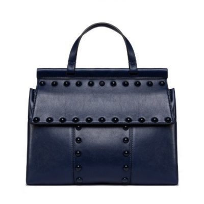 TB Block-T Stud Satchel 44329 in Royal Navy