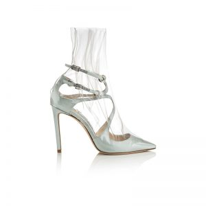 OFF-WHITE™-CO-JIMMY-CHOO-CLAIRE-100---SATIN-W-ROUCHED-TRANSPARENT-OVERLAY---LIGHT-BLUE