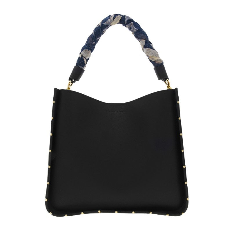 344cf32b4830 Charles   Keith – Scarf Wrapped Handle Bag