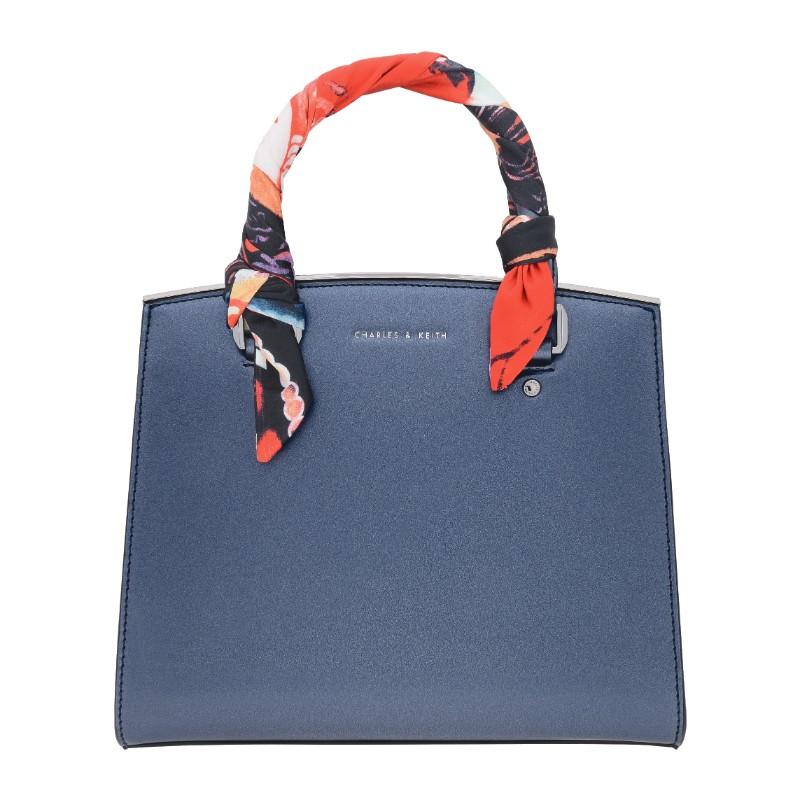 Charles Amp Keith Scarf Detail Top Handle Bag Valiram Group