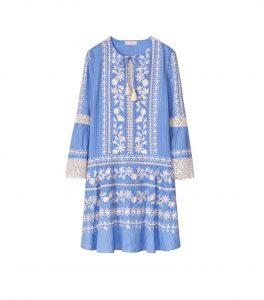TB Gabriella Dress 48457 in Blue Dusk