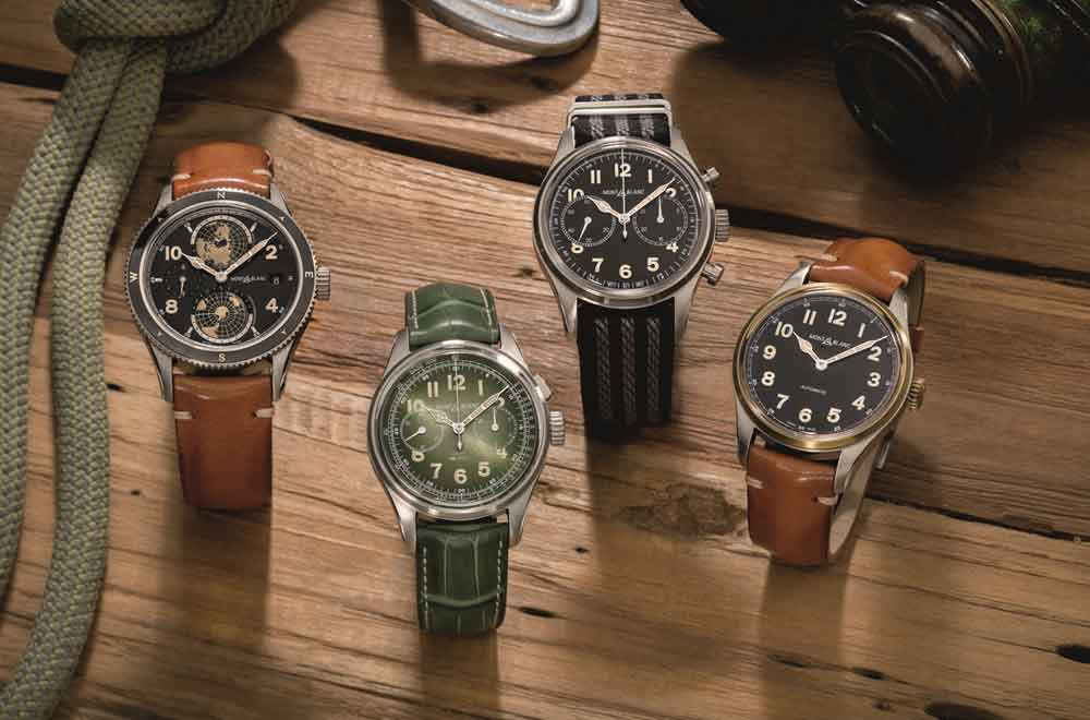 78f43b869e1 Inspired by the legendary professional Minerva watches from the 1920s and  30s that were meant for military use and mountain exploration, the 1858  collection ...