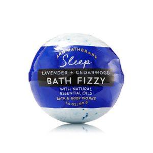 Aromatherapy LAVENDER & CEDARWOOD Bath Fizzy